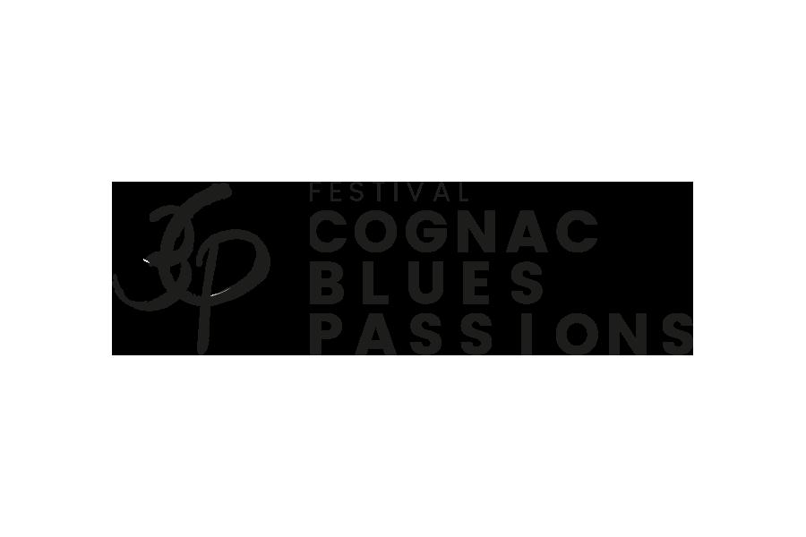 Festival Cognac Blues Passion - logo, affichage, distribution